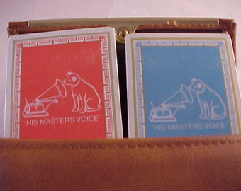 RCA His Masters Voice Playing Card Set