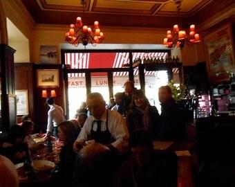 Paris Photo Download of Cafe Guests