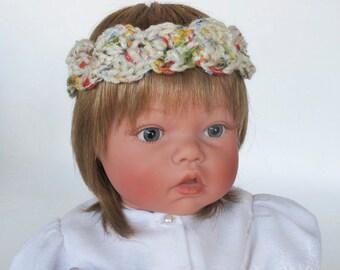 Multicolor Crocheted Toddler Headband