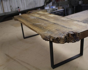 little, reclaimed oak bench or coffee table
