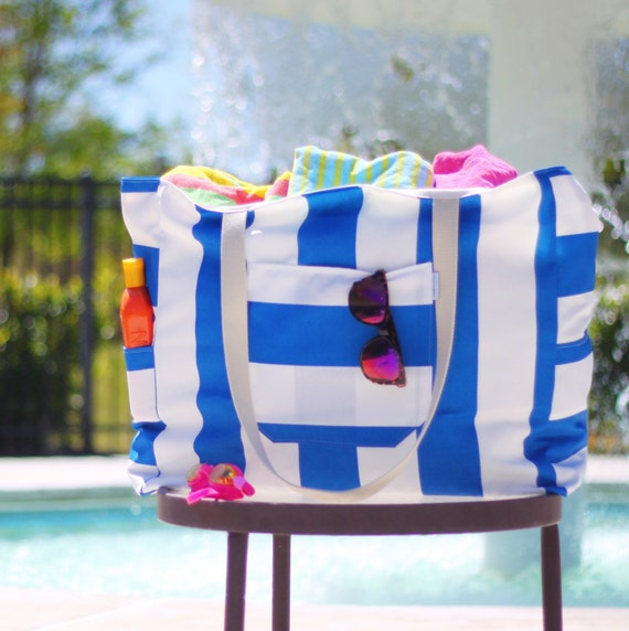 The Big Mommy Beach Bag Extra Large Custom Family Size Pool