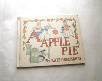 A Apple Pie Kate Greenaway Childrens Alphabet Book