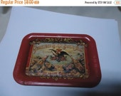 Valentines Sale Vintage 1992 Anheuser Busch Miniature Tray, St Louis. Mo. collectable, Beer