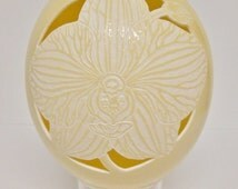 Orchid Ostrich Egg