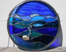 Stained Glass Sea Scape