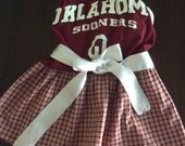 Oklahoma University Sooners Strapless Gameday Dress for Robin
