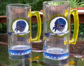 Massachusetts Maritime Academy Buccaneers Beer Mug, Grad Gift