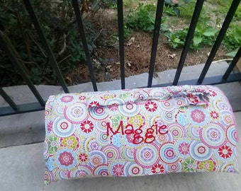 Custom Girls Monogrammed Preschool nap mat Personalized Boy MDO Toddler