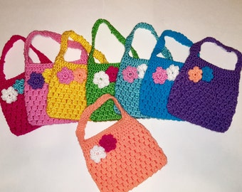 Crochet purse for little girls