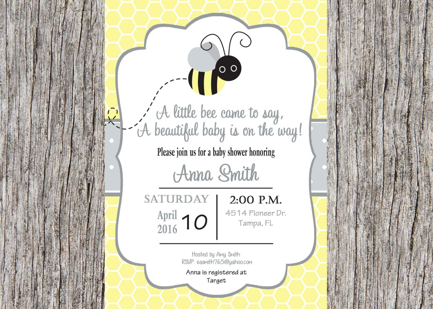 bee baby shower invitation bumble bee baby shower invitation