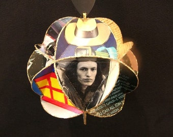 Traffic Band Album Cover Ornament Made From Record Jackets - Steve Winwood