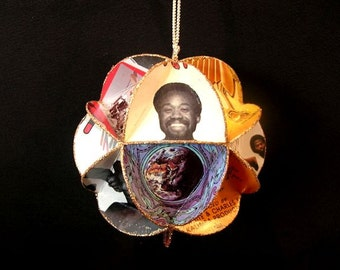 Earth Wind And Fire Album Cover Ornament Made Of Record Jackets