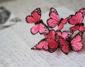 3 Butterfly Barrette