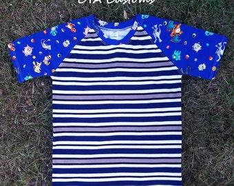 Pokemon T shirt boys size 9/10 L