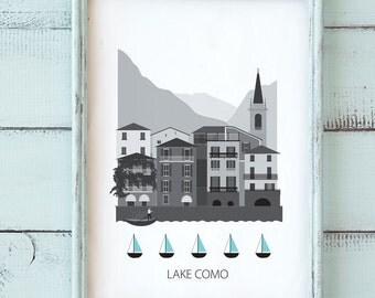 Lake Como, Lago di Como, Largo