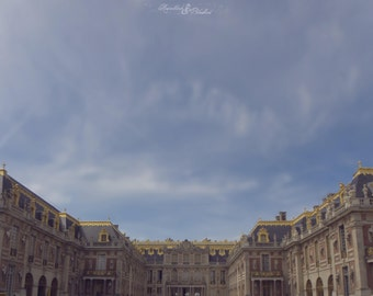 Paris-Versailles-The Palace vs the Sky- Fine Art Photography