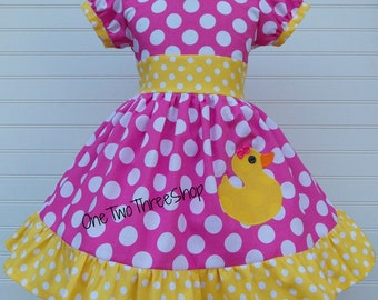 Sassy Duck Dress Puff Sleeve Dress Puffy sleeve