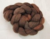 Handpainted Mixed BFL Top Spinning Fiber 4 oz