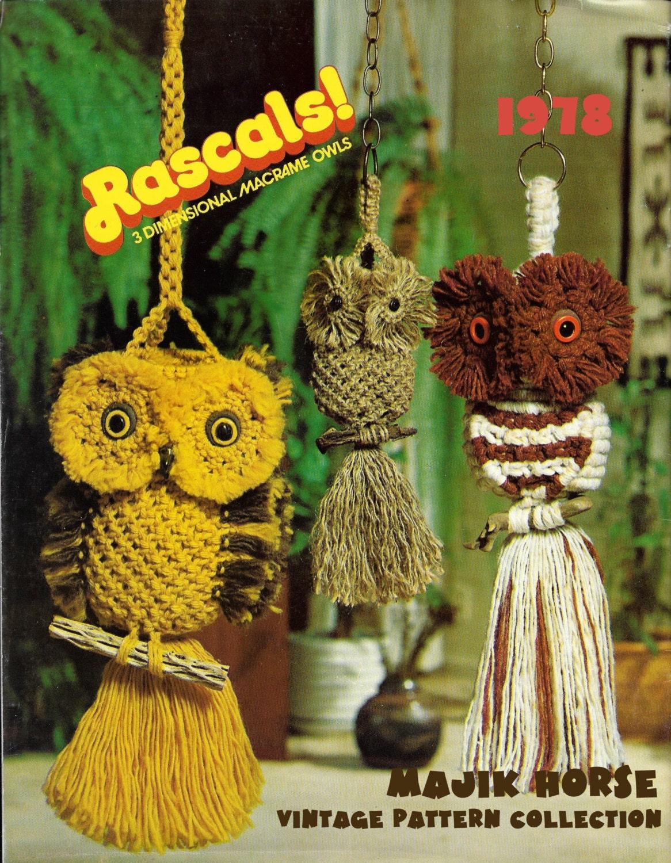 Bohemian Bedroom Decor Vintage Macrame Pattern Hippie 3d Owl Owls Bohemian