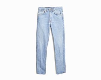 Vintage 90s Levi's Slim Straight-Leg Jeans / 90s Levi's Denim / Levi's 550s - W 28/29 x L 34