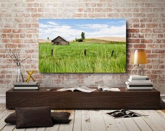 Idaho Farm, Backroads, Photography, Wheat, Old Barn, Sky
