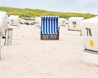 European Beach Chair - Island of Sylt