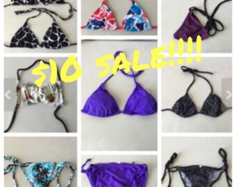 Sale---10 dollar bikini separates