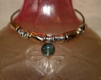 Sterling Silver Bracelet, Stackable bangle, Handcrafted Bracelet \,Stainless Steel  Bangle,Turmaline Bracelet,Gold filled Bracelet,