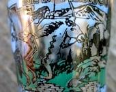 VINTAGE New Mexico Souvenir Shot Glass