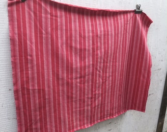 Vintage French Red Stripe Ticking