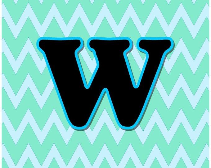 Letter W Digital Download