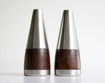 Vintage Danish Modern Salt & Pepper Shakers