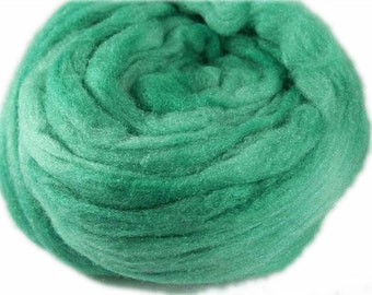 LIGHT GREEN - Nylon Roving - 1 oz