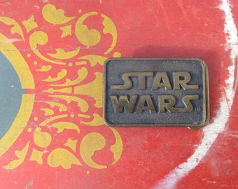 Star Wars Buckle, Star Wars, Brass Belt Buckle, Vintage Belt, Vintage Buckle