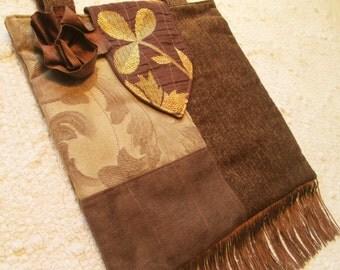 Large Fall Boho Gypsy Shabby Chic Hippie Fringe Bag