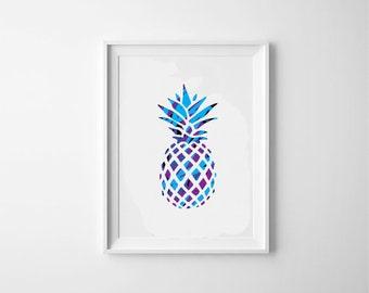 Pineapple Print One