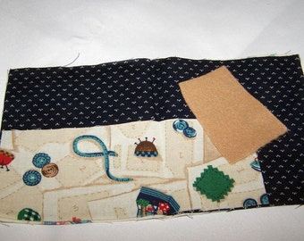 Make it yourself sewing kit pattern and fabric