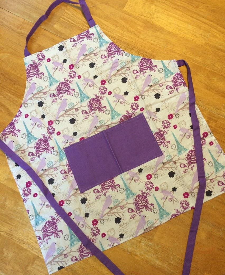 how to make a childs apron