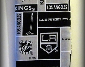 Eyeglass case - sunglasses case - glasses case - Hockey glasses case - Kings Hockey glasses case - LA Kings glasses case - LA Hockey case