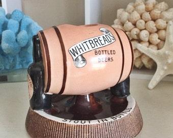 SALE Antique English Whitbreads Beer Match Striker