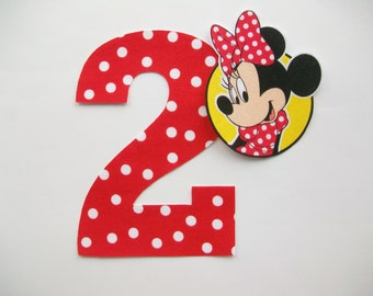 DIY Minnie Mouse Applique - Iron On
