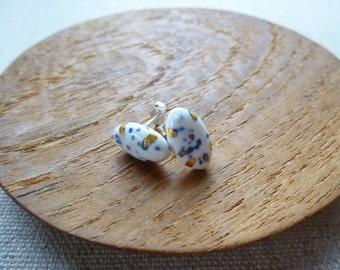 Glazed Rice Grain Stud Earrings SALE