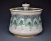 Ceramic Jar Pottery Canister Hand Made Stoneware B