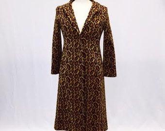 Light My Fire Boho Leopard Print Coat
