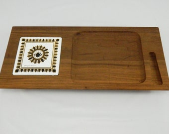 Vintage Georges Briard Regalia Cheese Board, Mid Century, Danish Modern