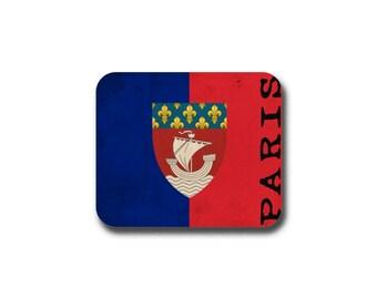 Paris Flag  Mouse Pad - Mousepad