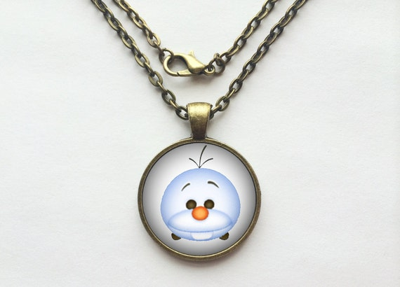 Olaf from Frozen Tsum Tsum Necklace or Keychain