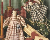 """Darrow Production Co. and Susan Fouts Pattern """"Kt Kitten & Prairie Annie""""  Leaflet"""