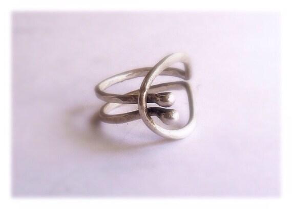Minimalist Sterling Circle Ring