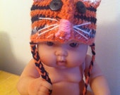 Tiger Hat - Special order for Natalie